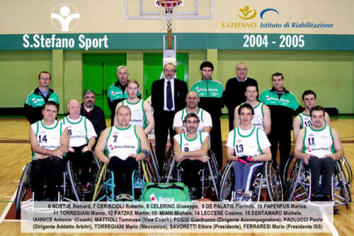 squadra 2004-2005