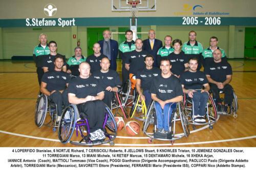 squadra 2005-2006
