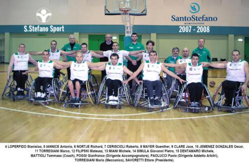 squadra 2007-2008