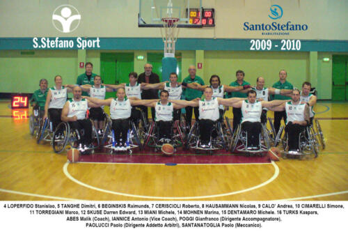 squadra 2009-2010