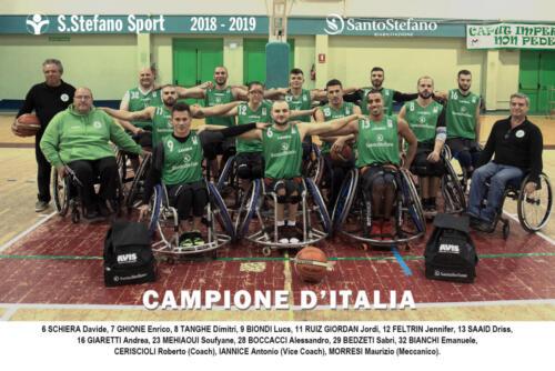 squadra 2018-2019